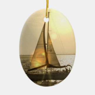 Dusk Sailing  Ornament