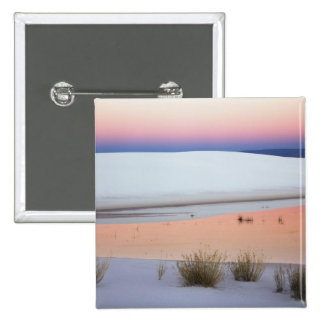 Dusk sky reflected in pool of water from 15 cm square badge