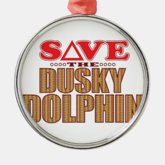 Dusky Dolphin Save Christmas Ornament