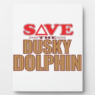 Dusky Dolphin Save Plaque