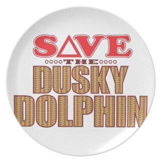 Dusky Dolphin Save Plate