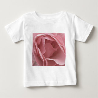 DUSKY PALE PINK ROSE Baby T-shirt