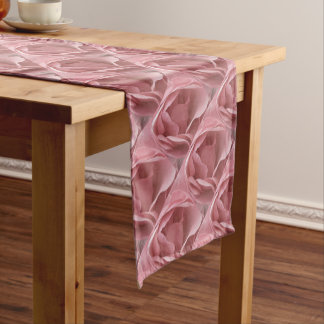 DUSKY PALE PINK ROSE Table Runner Cloth