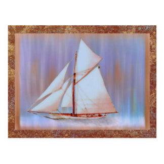 Dusky Sails Father's Day custom Postcard