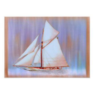 Dusky Sails photo print