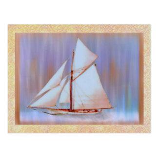 Dusky Sails postcard