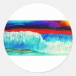 Dusky Waves Sticker