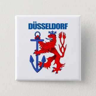 Dusseldorf 15 Cm Square Badge