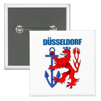 Dusseldorf 15 Cm Square Badge
