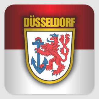 Dusseldorf 2 square sticker