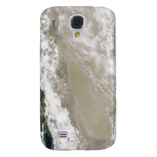 Dust and clouds hovered over the Taklimakan Des Samsung Galaxy S4 Cover