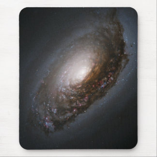 Dust Around the Nucleus of Black Eye Galaxy M64 Mouse Mat
