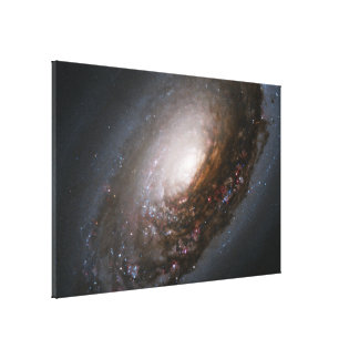 Dust Band Around the Nucleus Canvas Print