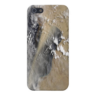 Dust blows off the coast of Libya iPhone 5/5S Cases