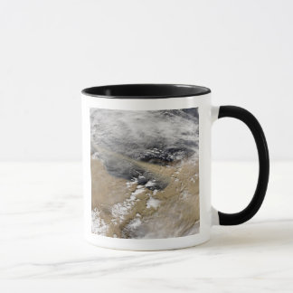 Dust blows off the coast of Libya Mug