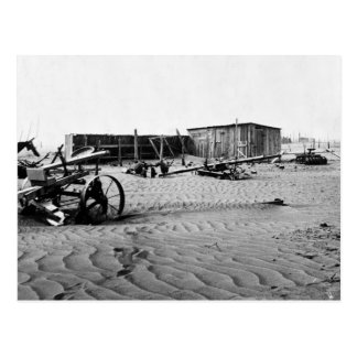 Dust Bowl 1935. Postcard