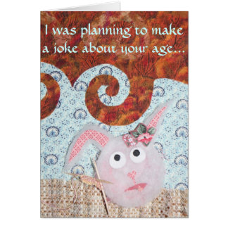 Dust Bunny Birthday - Hutch Bunnies Card