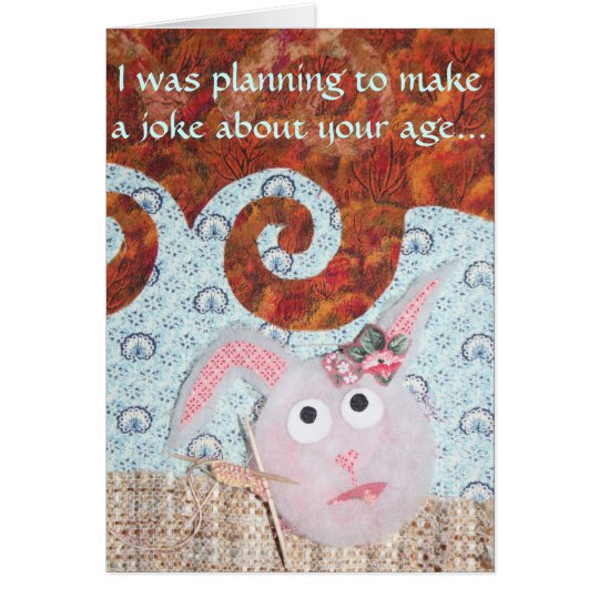 Dust Bunny Birthday - Hutch Bunnies Card