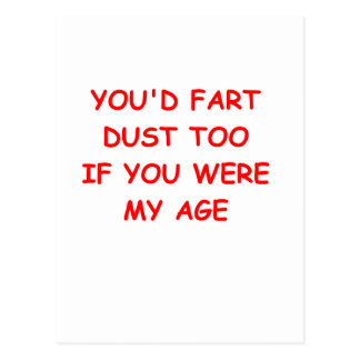 dust fart post cards