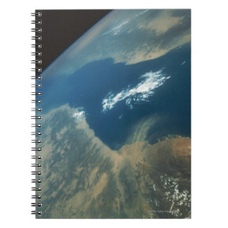 Dust Plume over the Red Sea Notebook