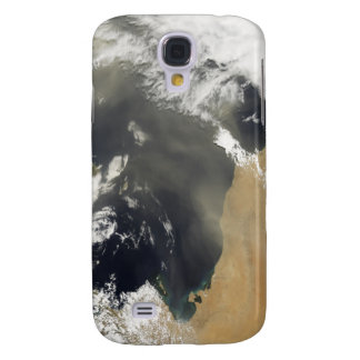 Dust plumes blowing off the north African coast Galaxy S4 Case