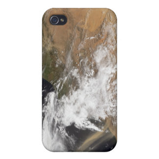 Dust plumes off the Moroccan coast iPhone 4/4S Covers