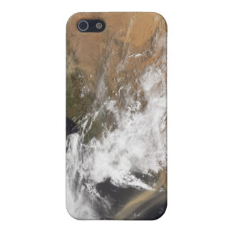 Dust plumes off the Moroccan coast iPhone 5 Cover