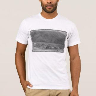 Dust Storm in Approching Rolla Kansas in 1935 T-Shirt