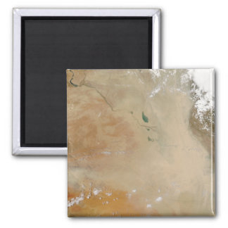 Dust storm in the Middle East Square Magnet