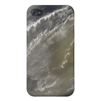 Dust storm off West Africa 2 iPhone 4 Cover