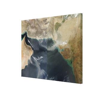 Dust storms canvas print