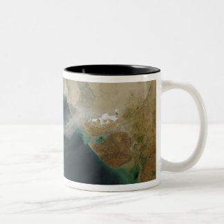 Dust storms Two-Tone coffee mug