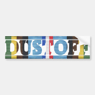 DUSTOFF Armed Forces Expeditionary Medal Sticker Bumper Sticker