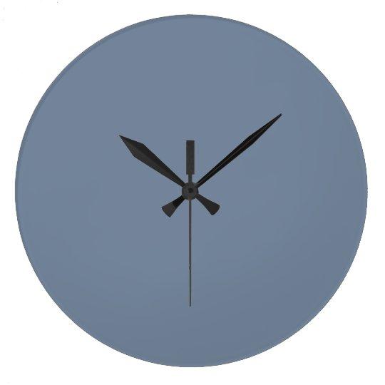 Dusty Blue Slate Grey Grey Solid Colour Background