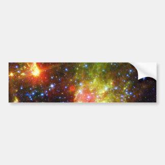 Dusty death of a massive star bumper sticker