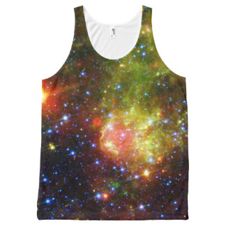 Dusty death of massive star NASA All-Over Print Tank Top