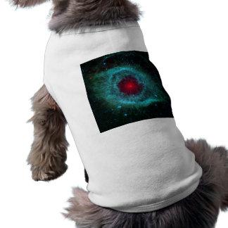 Dusty Eye of Helix Nebula NGC 7293 Sleeveless Dog Shirt