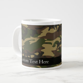 Dusty Green Camo Large Coffee Mug