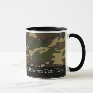 Dusty Green Camo Mug