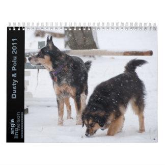 Dusty & Polu 2011 Calendars