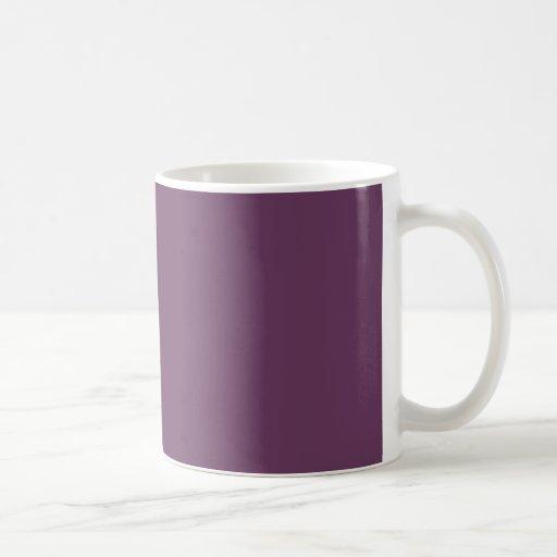 Dusty purple Trend Color Customized Template Blank Mugs