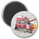 Dusty Race To The Rescue Magnets