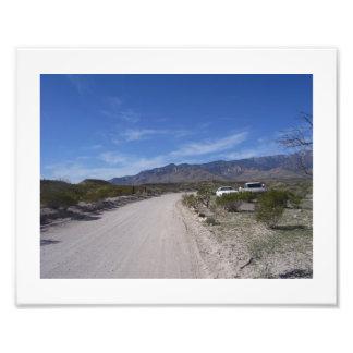 Dusty Road 1 Photo Print
