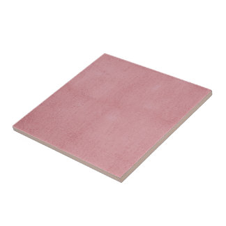 Dusty Rose Pink Textured Pattern Tile
