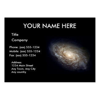 DUSTY SPIRAL GALAXY ~ PACK OF CHUBBY BUSINESS CARDS
