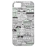 Dutch amsterdam illustration home pattern iPhone 5 cases