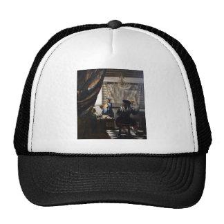 Dutch Artist Vermeer Painting Art of Painting Cap