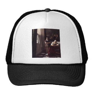 Dutch Artist Vermeer Painting Cap
