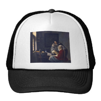 Dutch Artist Vermeer Painting Girl Interupted Cap