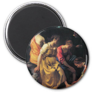 Dutch Artist Vermeer Painting Magnet